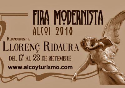 II Feria Modernista de Alcoy 2018
