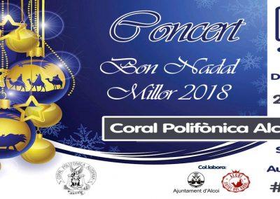 Concierto de Navidad de la Coral Polifónica Alcoyana