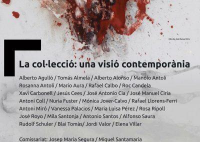 """Exposición """"La Col·lecció: una visió contemporània"""""""