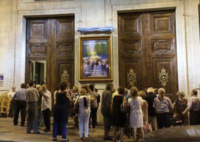 Descubrimiento del Cartel Romeria Virgen de los Lirios 2018