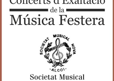 Concierto de Exaltación de la Música Festera – Sociedad Musical Nova de Alcoy