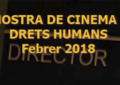 Mostra de Cine i Drets Humans 2018