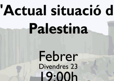 LA ACTUAL SITUACIÓN DE PALESTINA