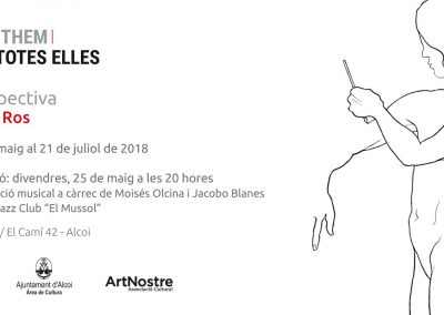 Exposició All of them/Totes elles – Retrospectiva de Concha Ros