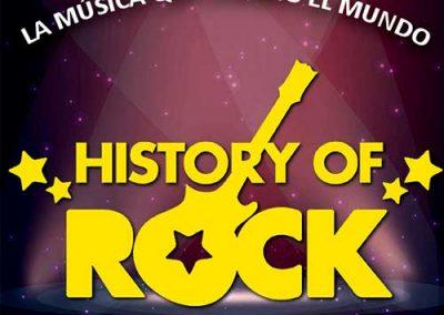 HISTORY OF ROCK. LA MÚSICA QUE CAMBIÓ EL MUNDO.