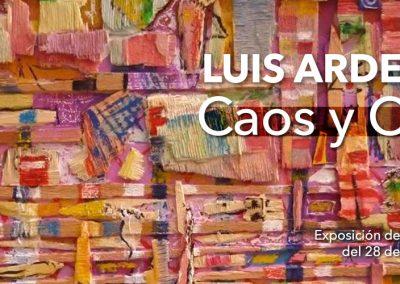 EXPOSICIÓN CAOS Y ORDEN – LUIS ARDEVÍNEZ
