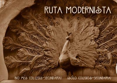 Ruta Modernista (sólo colegios-Secundaria)