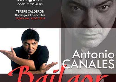 """ANTONIO CANALES """"BAILAOR"""""""