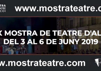 Mostre de Teatre 2019