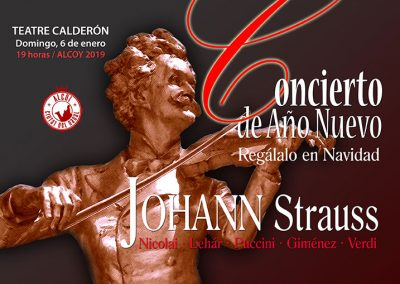 Concert Any Nou – Johann Starusss – Strauss European International Orchestra