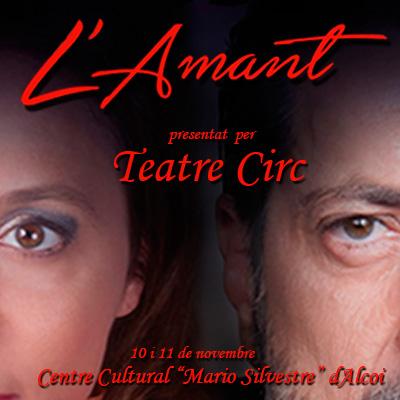 """Teatre Circ presenta """"L'Amant"""" de Harold Pinter"""