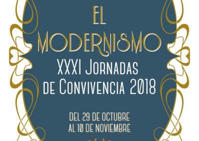 El Modernismo – XXXI Jornadas de convivencia 2018