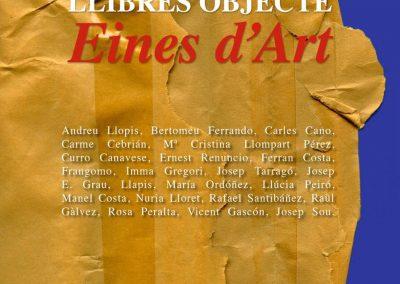 Exposición LLIBRES OBJECTE, Eines d'art