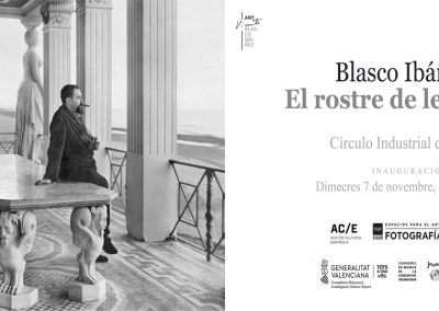 'Blasco Ibáñez i el rostre de les lletres'