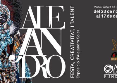 ALEJANDRO; festa, creativitat i talent