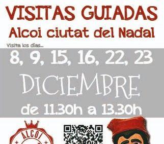 """Visita guiadas """"Alcoi Ciutat del Nadal"""" 2018"""