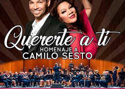 QUERERTE A TI. Homenaje a Camilo Sesto.