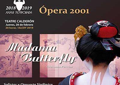 MADAMA BUTTERFLY de Giacomo Puccini.
