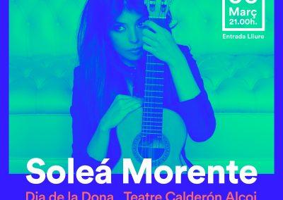 SOLEÁ  MORENTE en concierto – DIA DE LA DONA