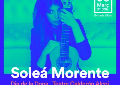 SOLEÁ MORENTE en concert – DIA DE LA DONA