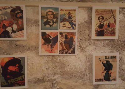 Exposició en el Refugi: Arts Plàstiques i propaganda de guerra