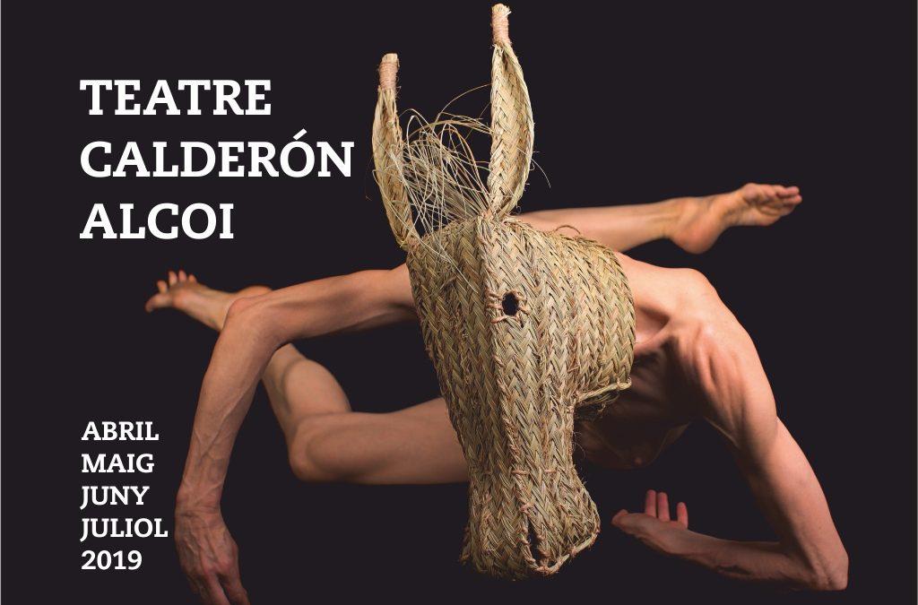 Programación abril-junio 2019 en el Teatre Calderón