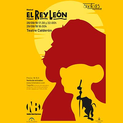 EL REY LEÓN. STUDIO 23- COMPAÑIA ARTISTICA BALLET NOEL BARROSO.