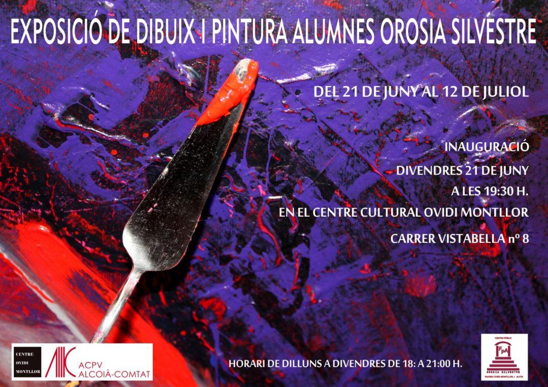 """Exposició de treballs de l'alumnat de """"Orosia Silvestre"""" al CCOM"""