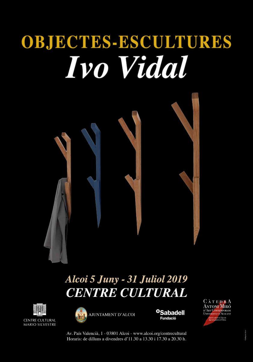 EXPOSICIÓN: OBJECTES -ESCULTURES d'Ivo Vidal