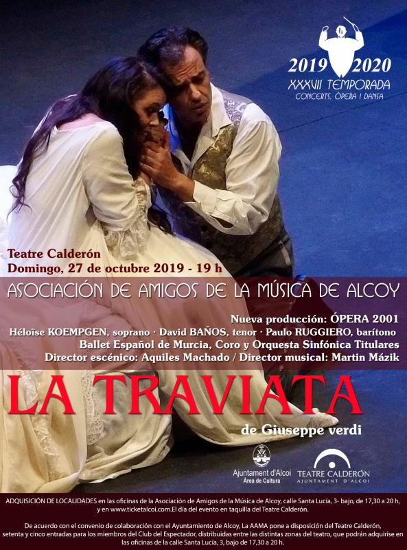 ÓPERA LA TRAVIATA de Giuseppe Verdi