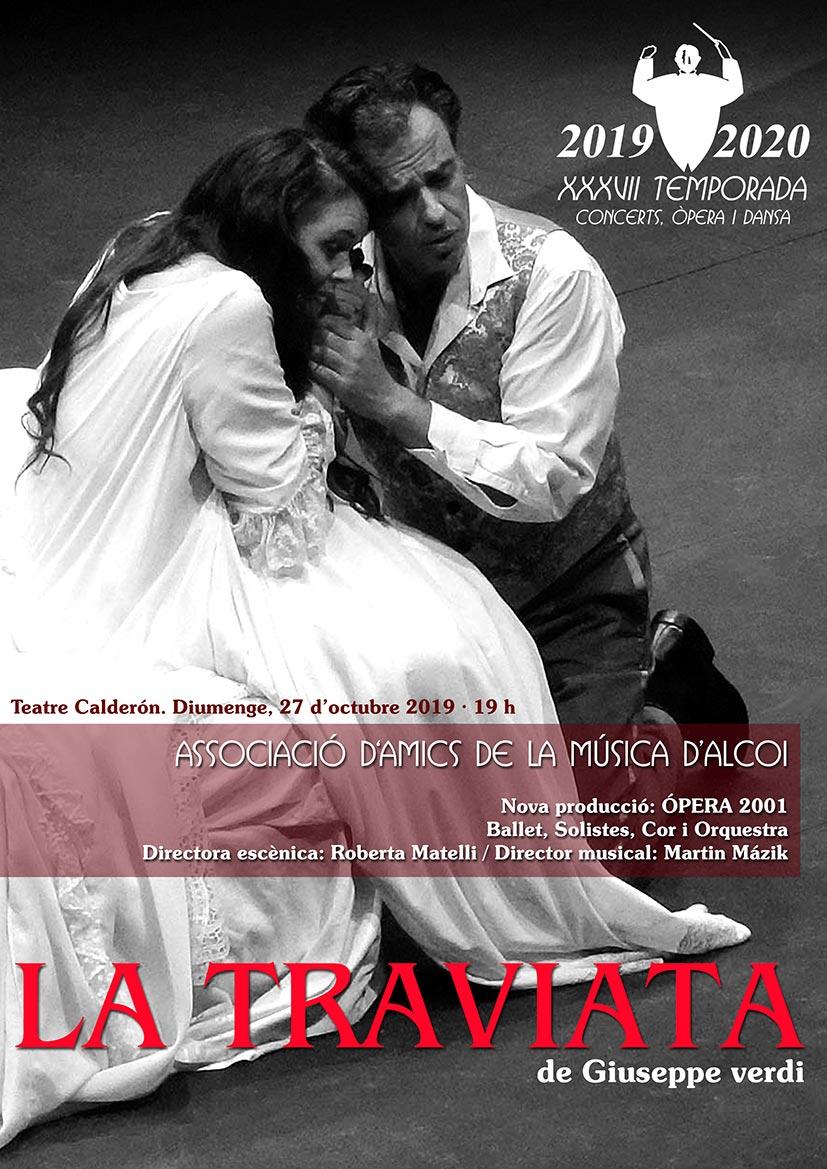 ÒPERA LA TRAVIATA de Giuseppe Verdi
