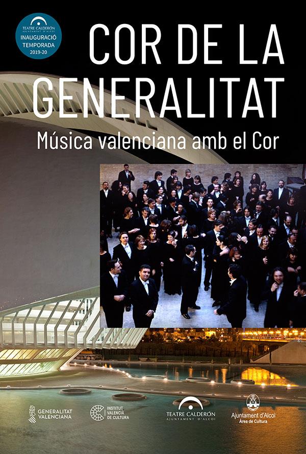 COR DE LA GENERALITAT VALENCIANA: Música Valenciana amb el Cor