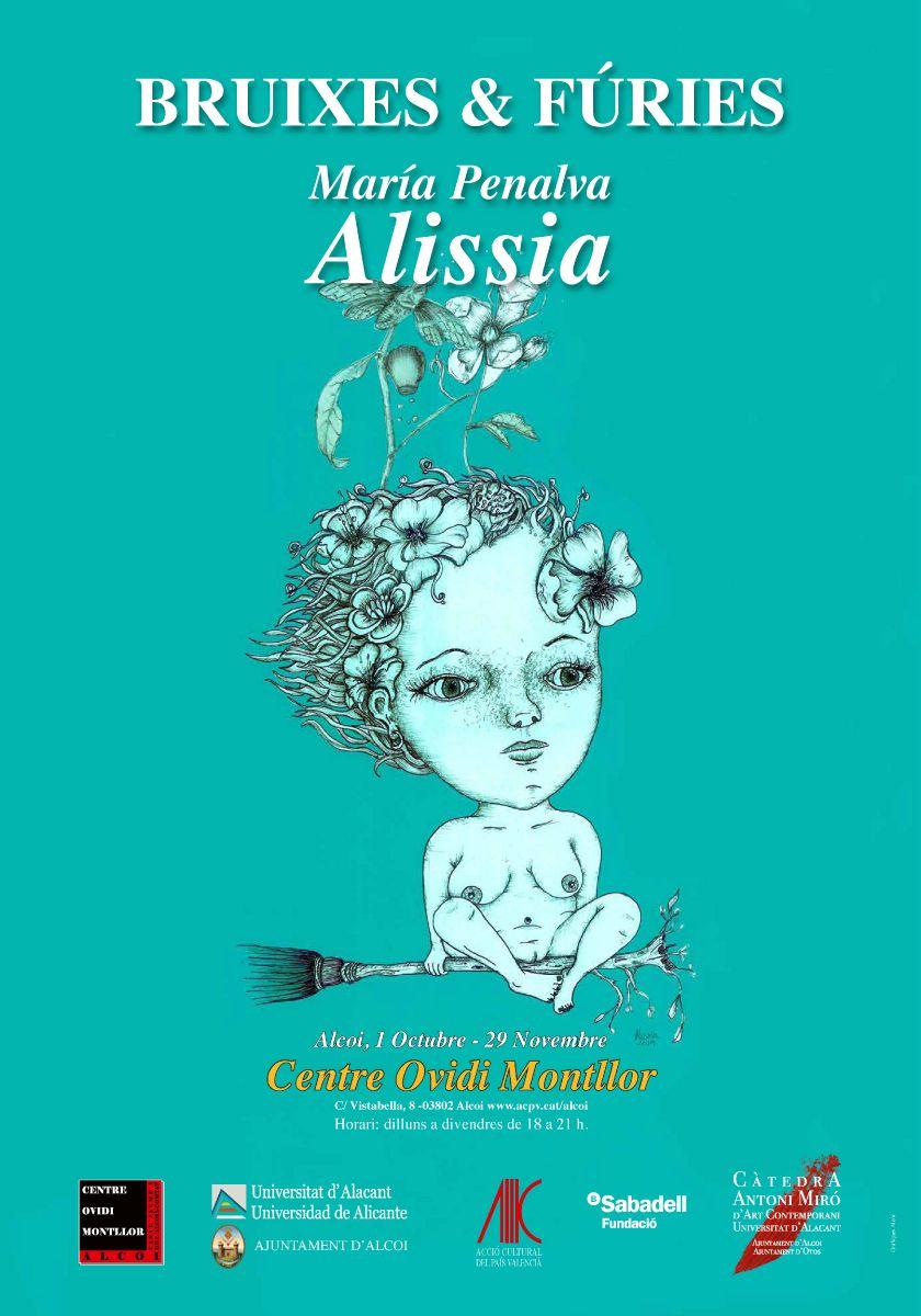 EXPOSICIÓN : BRUIXES & FÚRIES de Alissia María Penalva
