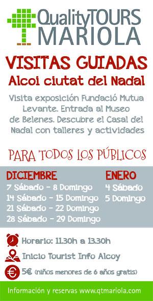 """Visitas guiadas """"Alcoi ciutat del Nadal"""" 2019"""