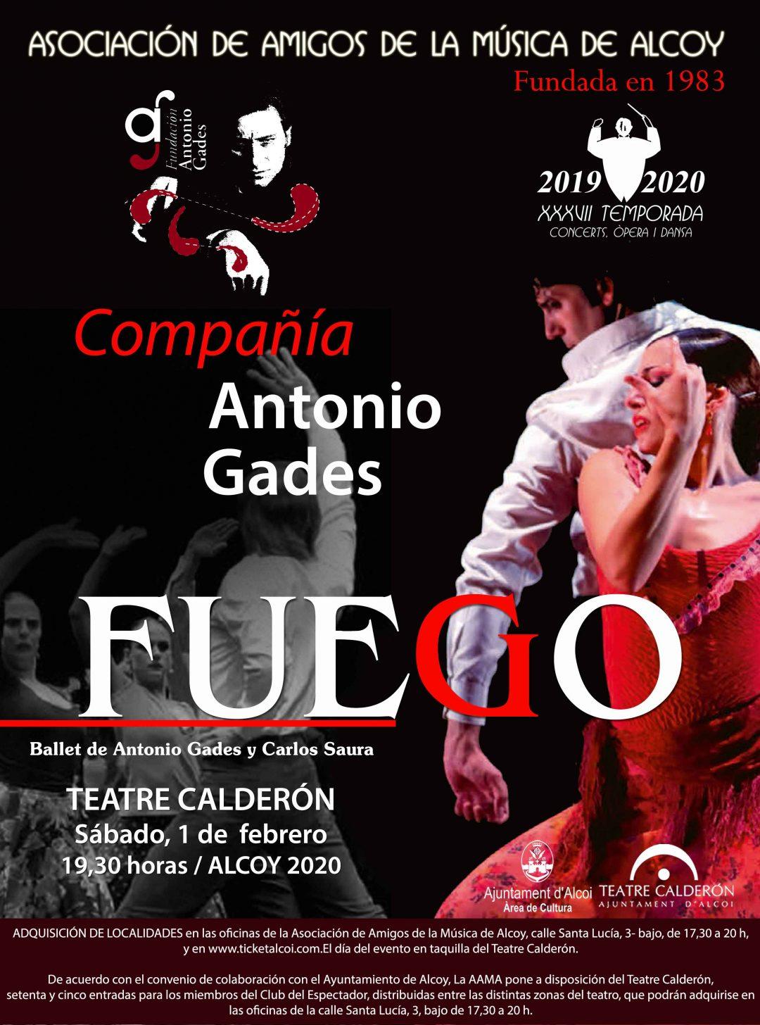 COMPAÑIA ANTONIO GADES – FUEGO