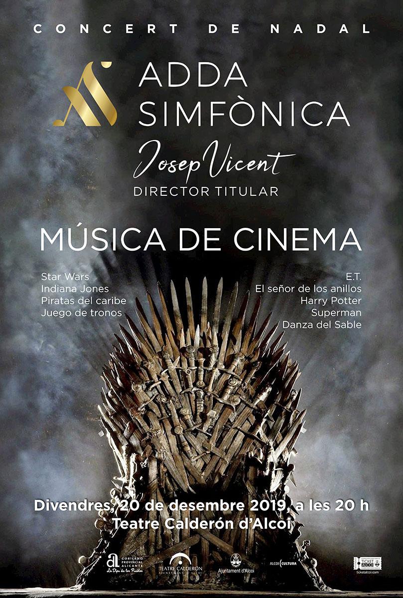 ADDA Simfònica: Concierto de navidad, MÚSICA DE CINEMA