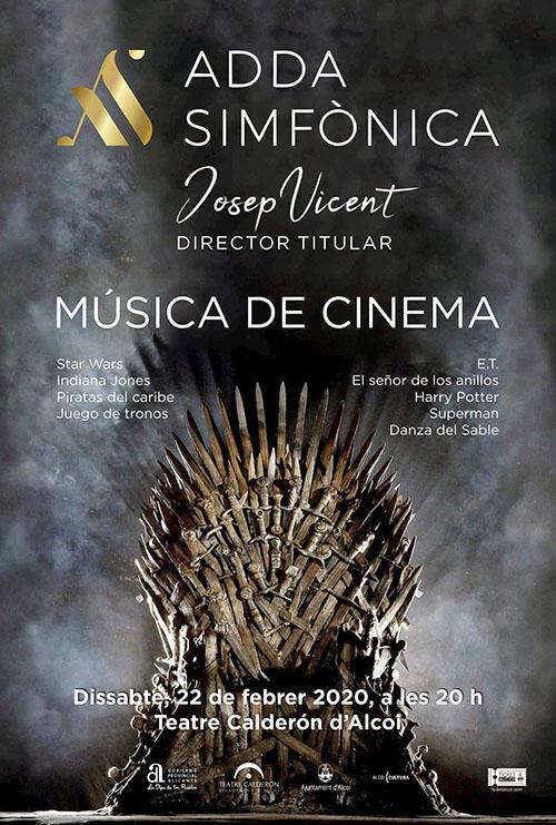 Atención cambio de fecha: ADDA Simfònica: MÚSICA DE CINEMA