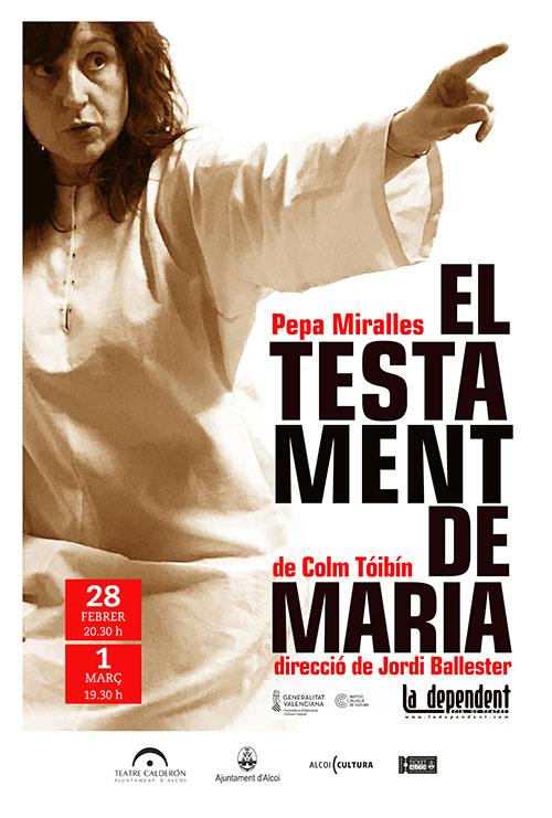 La Dependent: EL TESTAMENT DE MARIA
