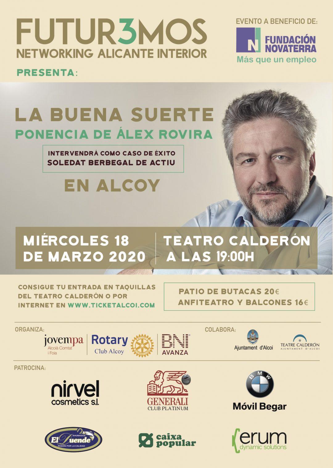 FUTUR3MOS – CONFERENCIA ÁLEX ROVIRA