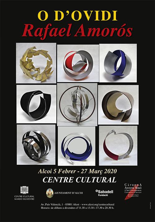 Exposició: RAFAEL AMORÓS: O d'Ovidi