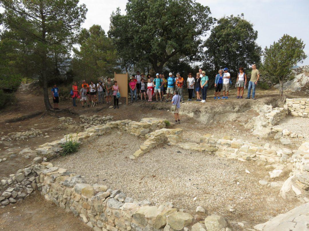 Excursión: Els abrics de La Sarga i el poblat ibèric del Puig