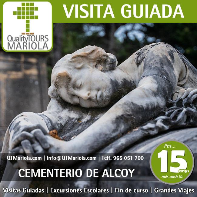 Visitas Cementerio Monumental Alcoy  12 Julio 2020