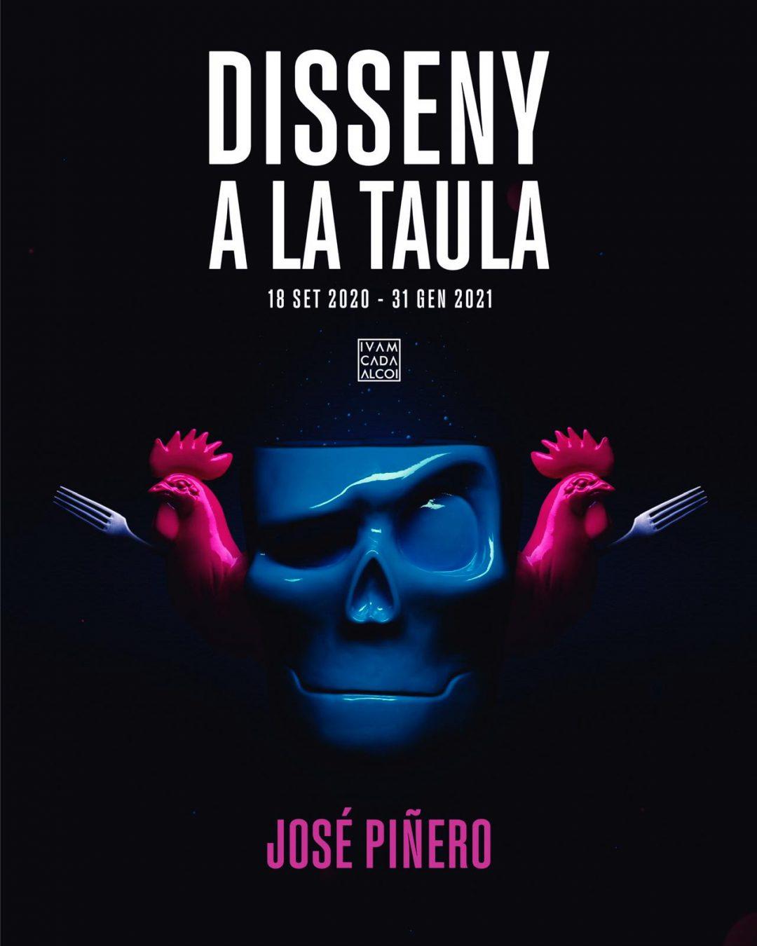 Exposición: Disseny a la taula, de José Piñero