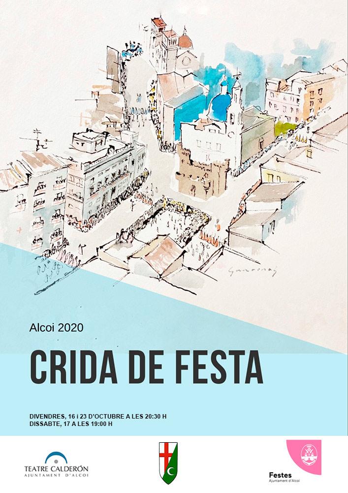 CRIDA DE FESTA – 23 d'octubre