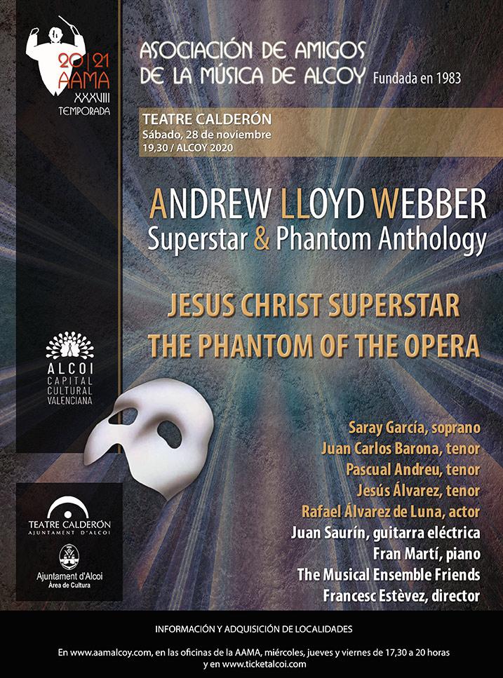 ANDREW LLOYD WEBBER SUPERSTAR & PHANTOM ANTHOLOGY