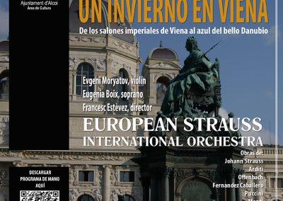 CONCIERTO DE AÑO NUEVO. EUROPEAN STRAUSS INTERNATIONAL ORCHESTRA.