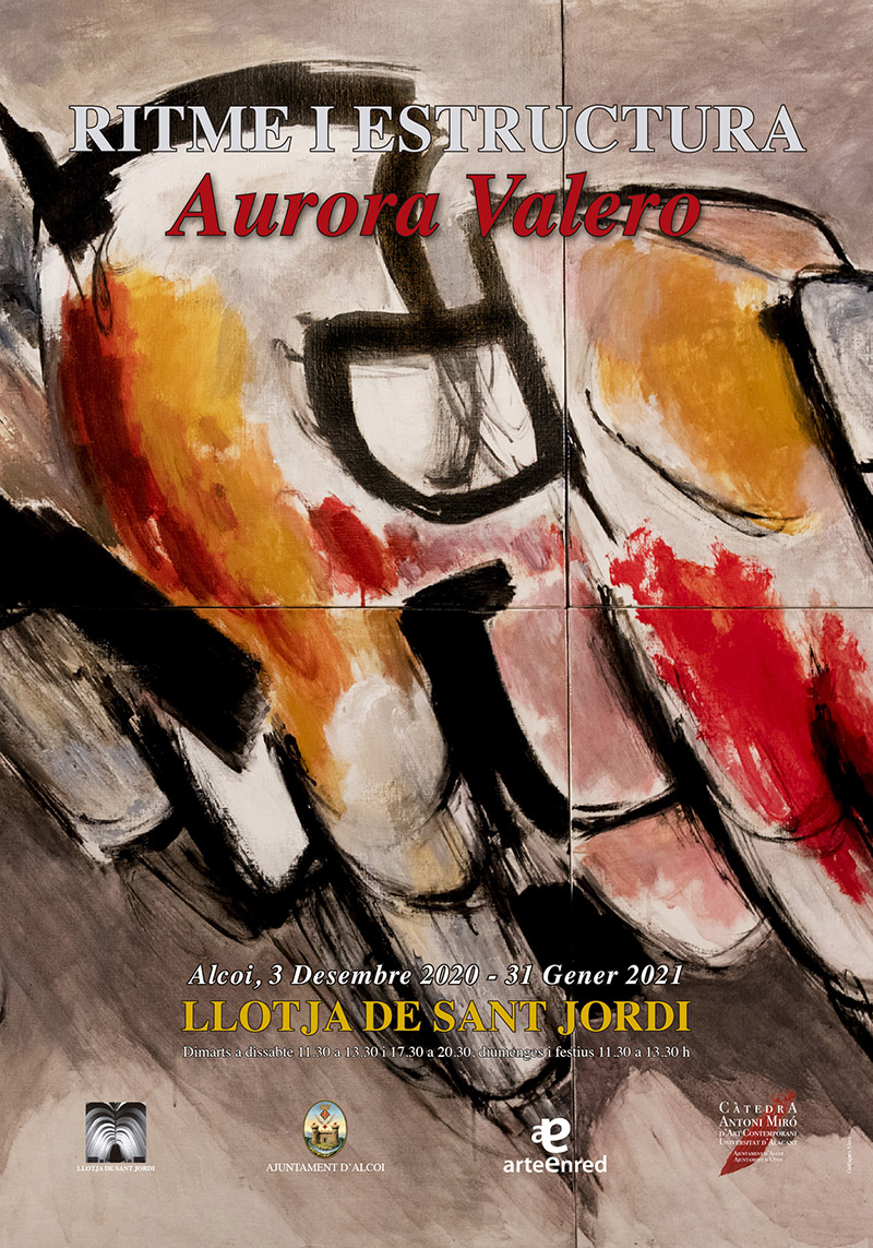 Exposició: Aurora Valero, RITME I ESTRUCTURA