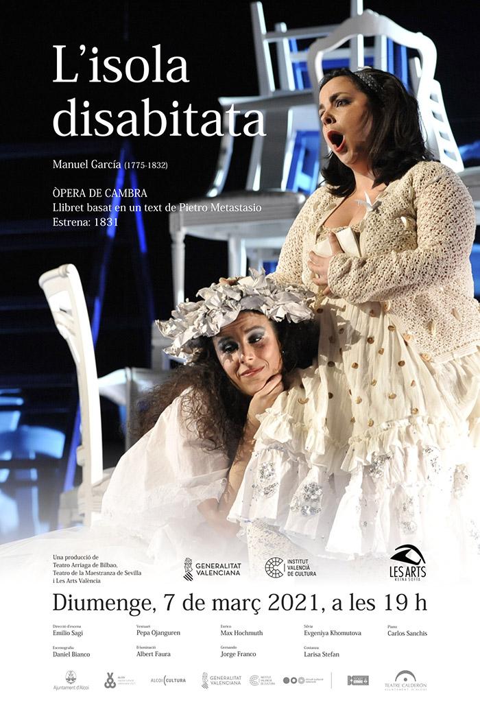 ÓPERA DE CÁMARA: L'Isola Disabitata. (Palau de les Arts IVC)