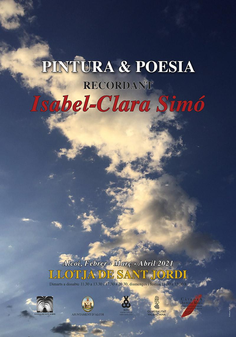 Exposición: Recordando a Isabel-Clara Simó (Pintura y Poesía)