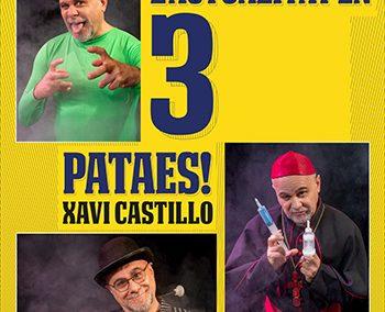 Xavi Castillo presenta L'ACTUALITAT EN TRES PATAES
